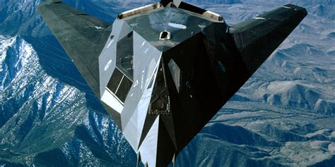 The first stealth aircraft was created with a radical ...