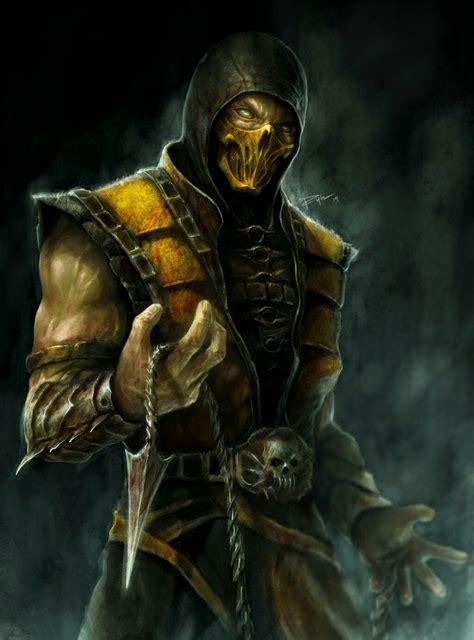 Pin By Jace Hannula On Art Scorpion Mortal Kombat