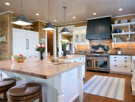 l shaped kitchen islands l shaped kitchen island country kitchen via design