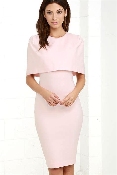 light pink midi dress elliatt elevate dress light pink dress midi dress