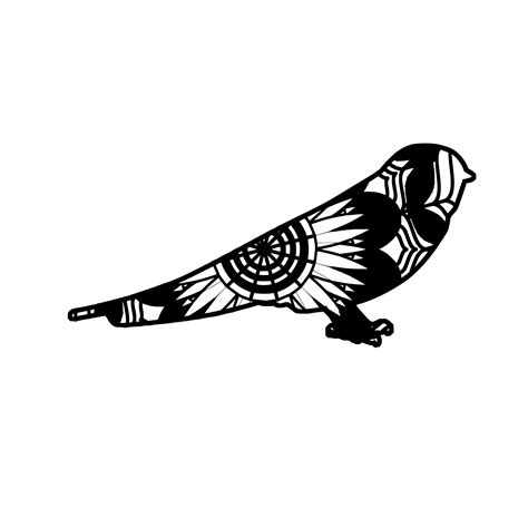Free svg image & icon. Swallow Bird Mandala Animals Svg | Swallow bird, Mandala ...