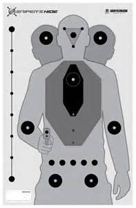 Pistol Shooting Training Targets