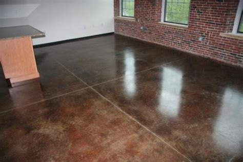 Staining Concrete Floors  4 Steps To Stain A Concrete Floor