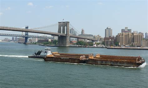 Tow Boat History by File Towboat In Front Of Bridge Jpg Wikimedia