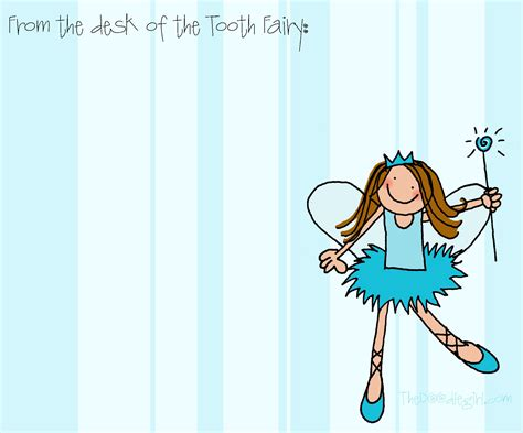 Tooth Fairy Notes « Thedoodlegirl