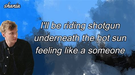 Shotgun (lyrics)