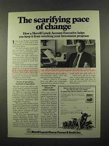 1975 Merrill Lynch Ad - The Scarifying Pace of Change