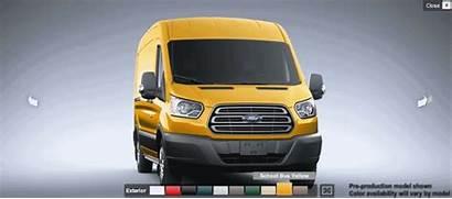 Transit Ford Van Yellow Cargo Diesel Arrival