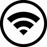 Wifi Symbol Circle Icon Inside Icons Vector
