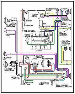 1970 Chevy C10 Pickup Wiring Diagram