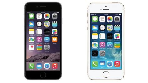 iphone 5s vs iphone 6 iphone 6 vs iphone 5s all the major differences detailed