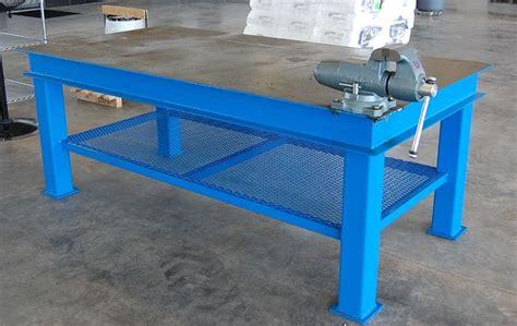 metal work bench steel welding bench