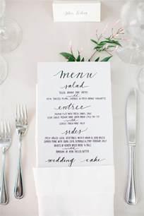 wedding dinner ideas best 25 wedding dinner menu ideas on diy menu cards for weddings napkins for
