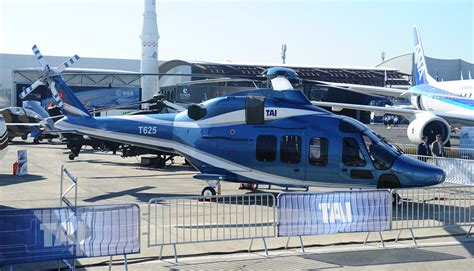 Tai Reveals The New T625 Mutli-role Helicopter