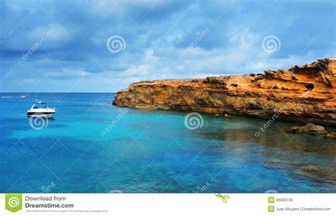 Punta De Sa Pedrera Coast In Formentera Balearic Islands