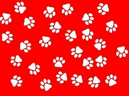Paw Background Paws Dog Clipart Wallpapers Desktop