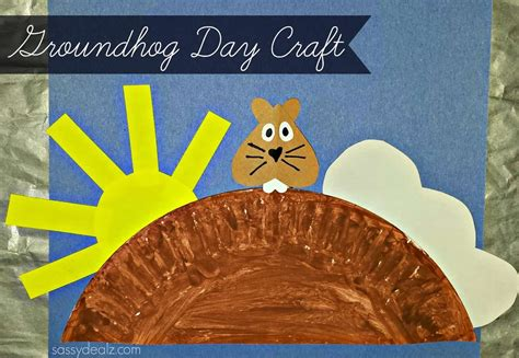 13 groundhog day crafts for socal field trips 478 | groundhog day craft for kids