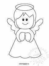 Christmas Angel Coloring Pages Printable Templates Tree Angels Eu Template Coloringpage Yahoo Sheet Drawing Results Crafts Crayon Colors Related Colouring sketch template