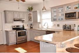 Painted Kitchen Cabinets Before And After Grey by Painted Kitchen Cabinets Using Paris Grey Chalk Paint By Annie Sloan My Kitch