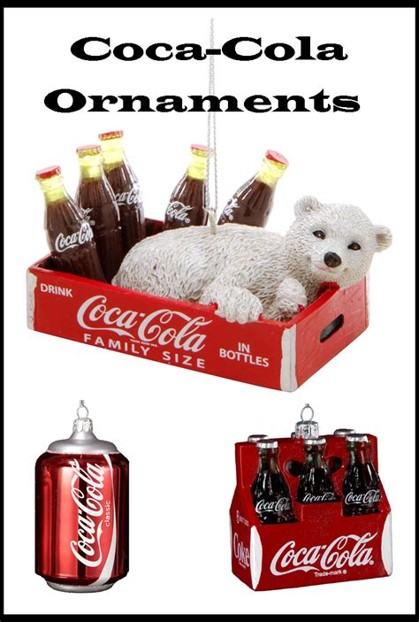 great coca cola christmas ornaments christmas tree ideas net