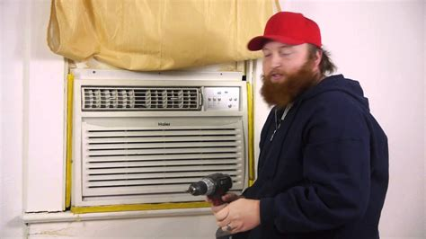 secure  window air conditioner      pushed  window air conditioners