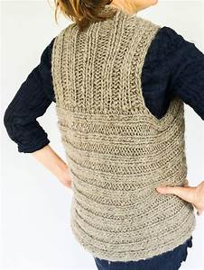 moto vest side view knit from radius yarn windrush bulky
