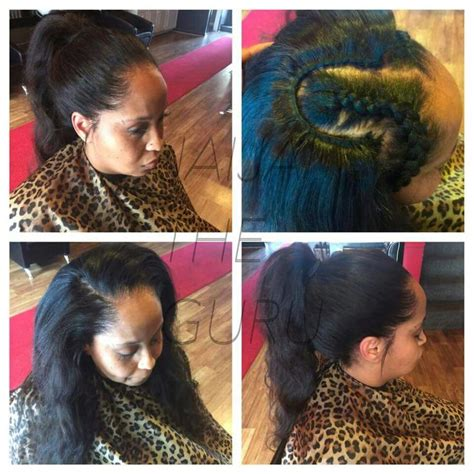Pull Up Sew In Hairstyles by Pull Up Sew In With 2 Bundles Of Peruvian Hair All