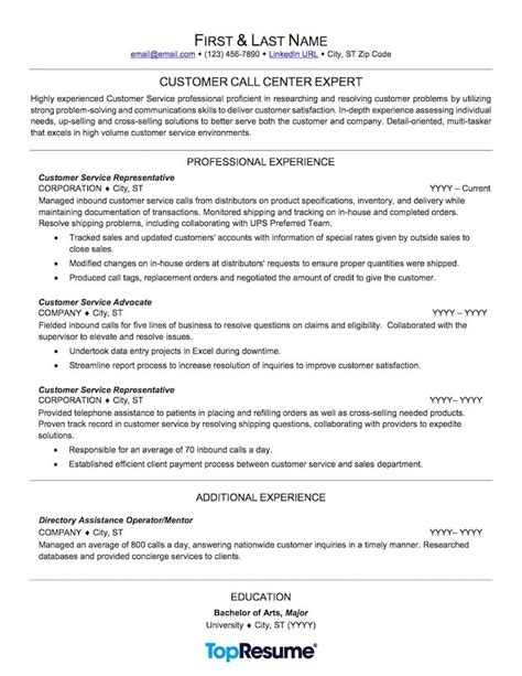 11631 call center customer service resume exles customer service call center resume sle resume for study