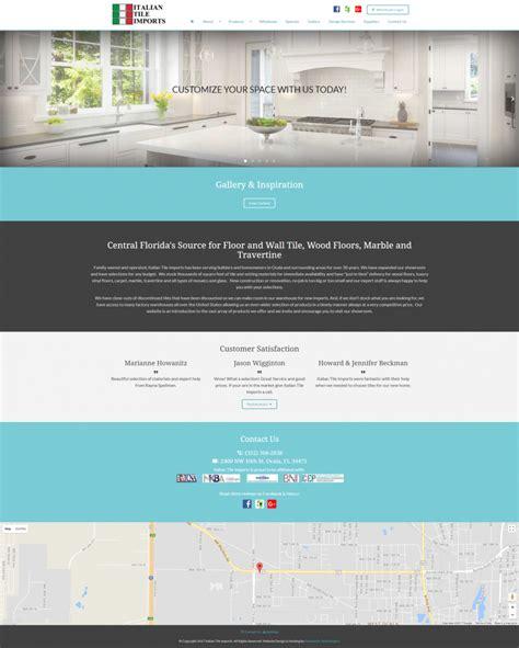 Italian Tile Imports Ocala Florida by Italian Tile Imports Launches New Website Design