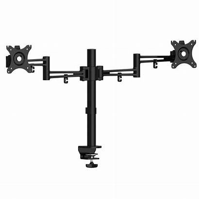Monitor Arm Screen Flat Luna Double Arms