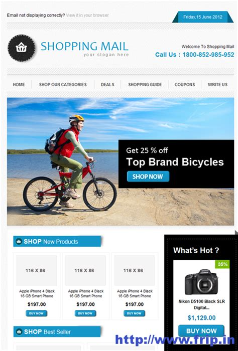 Email Template Shopping best 40 shopping ecommerce email templates frip in