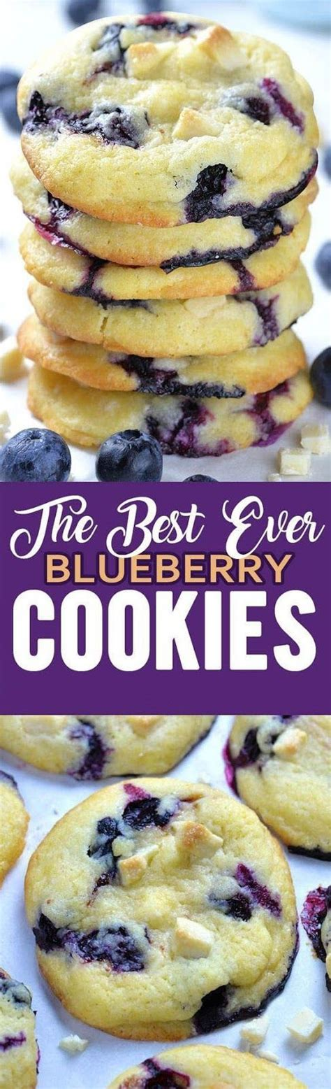 I used almond flour mostly and spelt for the rest and holy smokes was the texture to die for. Best Ever Blueberry Cookies | Blueberry recipes, Desserts ...
