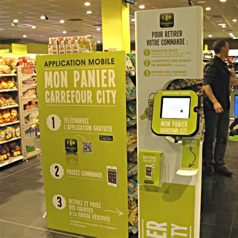 carrefour mobile phones carrefour uses nfc and qr codes to speed up grocery