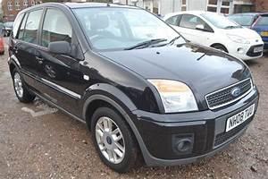 Ford Fusion 1 6 Tdci Zetec Climate 5dr  Black  2008