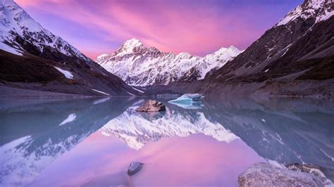 aoraki mount cook  zealand picture  nature images