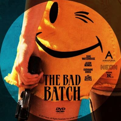 this is for the cover the bad batch dvd covers labels by covercity