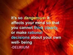17 Best images ... Delirium Funny Quotes