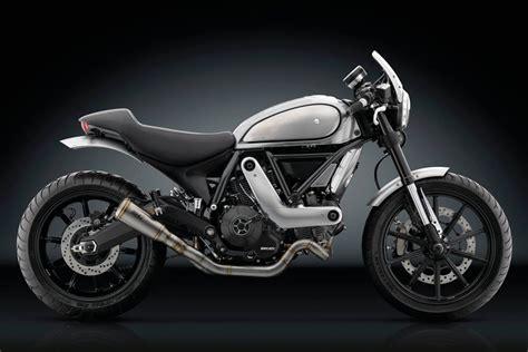Ducati Scrambler Icon Modification by Rizoma Ducati Scrambler Cafe Racer Return Of The Cafe Racers