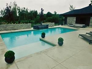 amenagement piscine creusee With amenagement de piscine exterieur 2 realisation chute piscine creusee paysage lambert