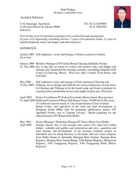 Lamaran Pekerjaan Cpns by Contoh Daftar Riwayat Hidup Cpns Pdf Contoh 193