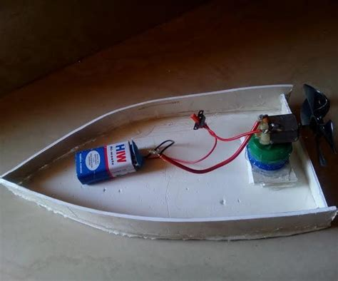 How To Make A Boat Diy by Diy Motor Boat 2