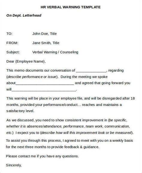 warning letter templates  premium templates