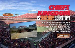 Bad Boy Mowers And The Kansas City Chiefs Both Hit The