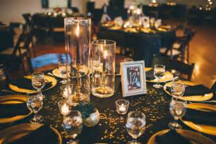 Diy Graduation Decorations Pinterest by Gold And Glitter Wedding At The Pointe