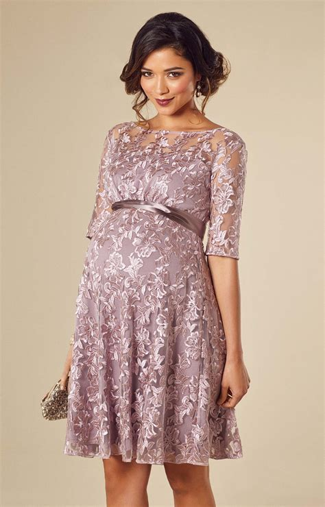 Asha Maternity Dress Lilac - Maternity Wedding Dresses Evening Wear and Party Clothes by ...