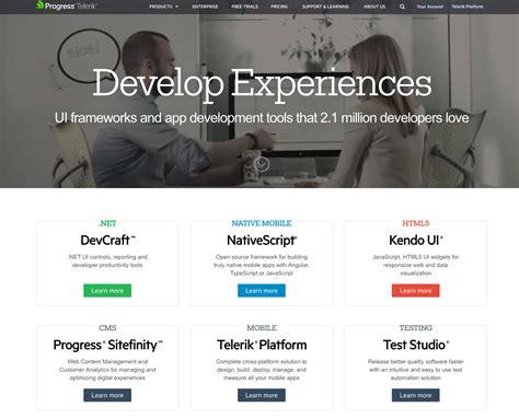 website homepage design examples