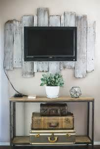 woods vintage home interiors 9 awesome diy frames for your flatscreen tv architecture design