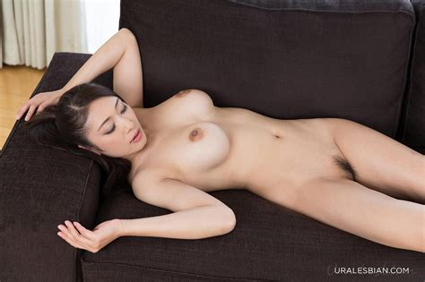 Nude japanese lesbians Lick Each Others Asshole And Feet On Couch