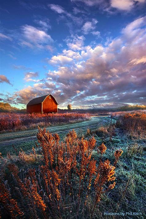 phil koch barn landscapes wisconsin roads landscape farm landscaping paved country nature photograph amazing visit scenes