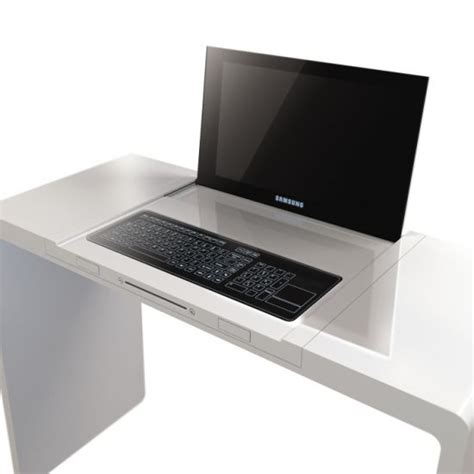 bureau informatique design ordinateur bureau design hype
